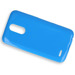 Fall decken CASE COVER GEL TPU TASCHE JELLY LG K10 2017 BLAU