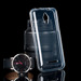 Fall decken CASE COVER TASCHE JELLY VODAFONE SMART 4 TURBO CLEAR