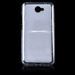Fall decken MATT CASE COVER TASCHE JELLY HUAWEI Y7 TRANSPARENT
