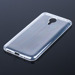 TASCHE Fall decken CASE COVER MEIZU MX5 / MX 5 0.3mm TRANSPARENT