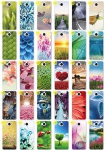 0.3mm Case Cover Caso Copertura Kreatui PhotoCase HUAWEI Y6 2017