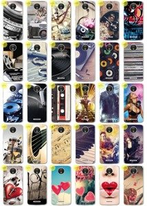 0.3mm Case Cover Caso Copertura Kreatui PhotoCase MOTOROLA MOTO C PLUS