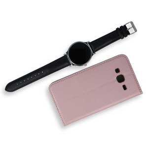 COPERTURA CASO CASE COVER Magnetic SAMSUNG GALAXY J3 216 J320 ROSE ORO