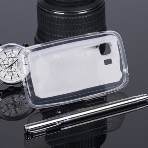COPERTURA CASO CASE Custodia 0.3mm SAMSUNG GALAXY YOUNG 2 G130 CLEAR