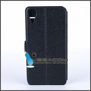 CUSTODIA COPERTURA CASO CASE COVER VIEW HTC DESIRE 10 LIFESTYLE NERO
