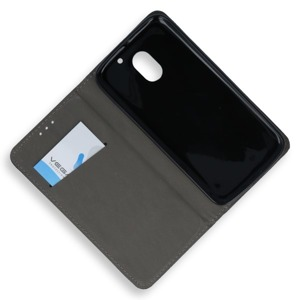 HOLSTER COPERTURA CASO CASE COVER Magnetic Smart LENOVO MOTO E3 NERO