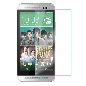 Proof Tempered Glass Film Screen Protector 9H HQ HTC ONE E8