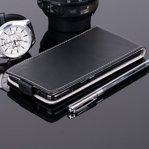 SLIM FLIP FLEX CASE COVER CUSTODIA caso coprire WIKO HIGHWAY PURE NERO