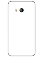 Design a unique case with its own imprint on HTC U11 / U 11 - black