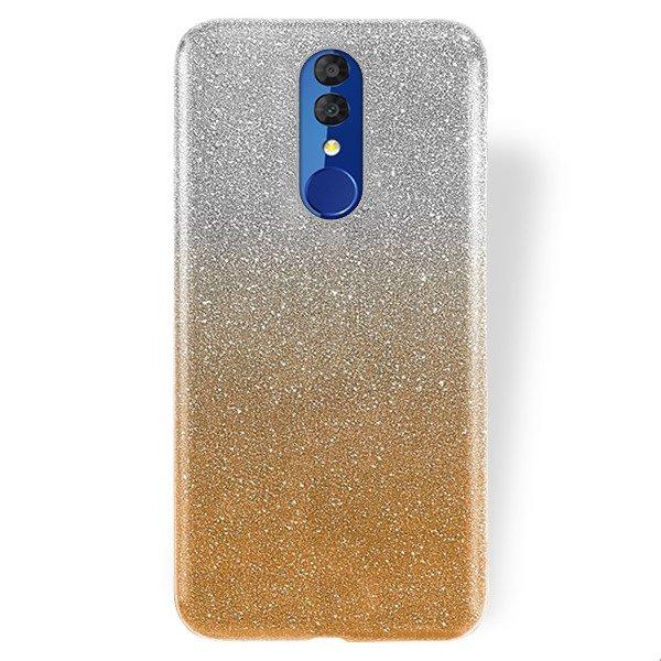 Etui Do Alcatel 3 2019 Na Tył Stella Pokrowiec Z Brokatem Transparentno Złoty Ze Szkłem Hartowanym Sklep Vegacom