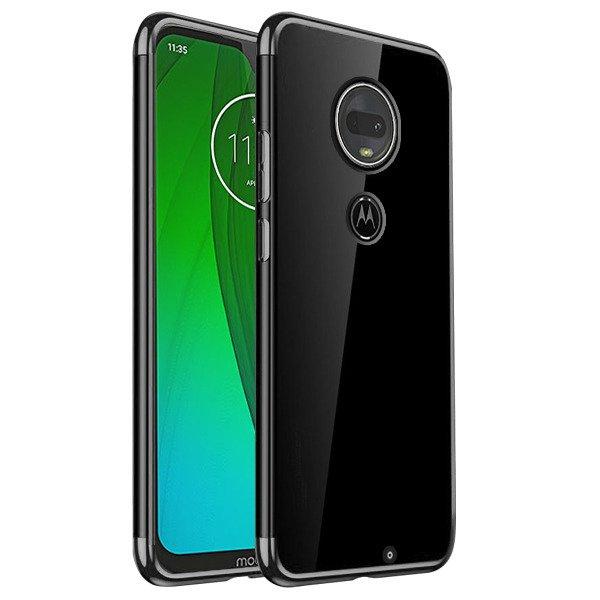Etui Na Tył żelowe Ambit Pokrowiec Czarny Do Motorola Moto G7 G7 Plus Sklep Vegacom
